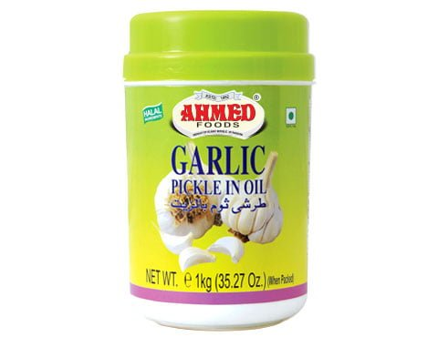 AHMED PICKLE GARLIC(REG)   1 KG