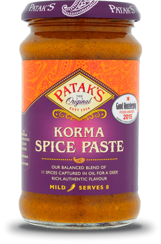 PATAK PASTE KORMA CURRY 290G